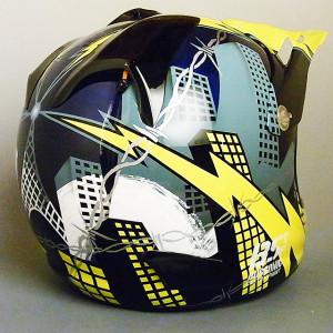 Bugsonic Design バグソニックデザイン_オリジナルヘルメットペイント_14