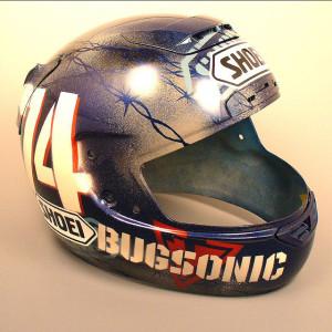 Bugsonic Design バグソニックデザイン_オリジナルヘルメットペイント_16