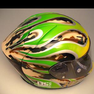 Bugsonic Design バグソニックデザイン_オリジナルヘルメットペイント_18