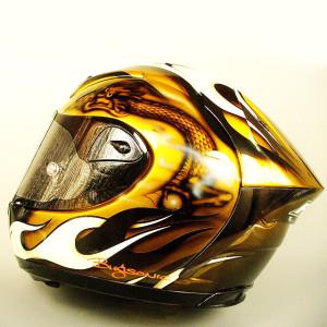 Bugsonic Design バグソニックデザイン_オリジナルヘルメットペイント_2