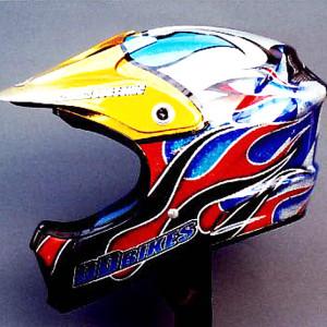Bugsonic Design バグソニックデザイン_オリジナルヘルメットペイント_25