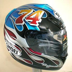 Bugsonic Design バグソニックデザイン_オリジナルヘルメットペイント_4