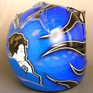 Bugsonic Design バグソニックデザイン_オリジナルヘルメットペイント_8